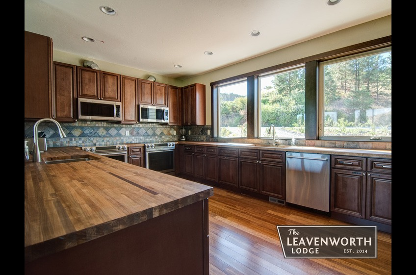 The Leavenworth Lodge Kitchen